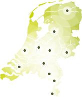 Kaart Nederland- 20150311